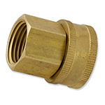 "HPF13 - Aqualine -  Brass 3/4"" female hose to 1/2"" female pipe swivel"