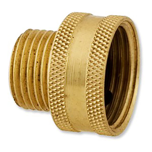 "HPF5 - Aqualine - Brass 3/4"" Female Hose to 1/2"" Male Pipe Swivel"