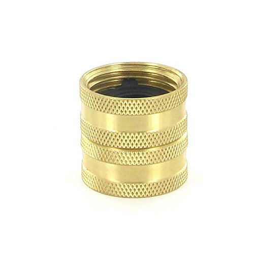 "HPF7 - Aqualine -  Brass 3/4"" female hose to 3/4"" female hose swivel"