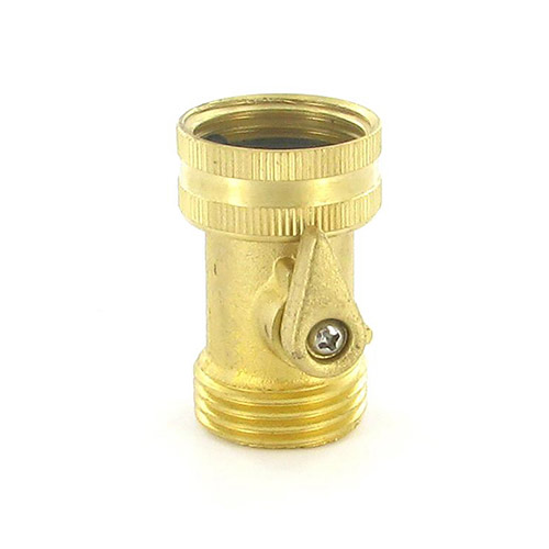 "HSOB - Aqualine - Brass 3/4"" Hose Shut-Off"