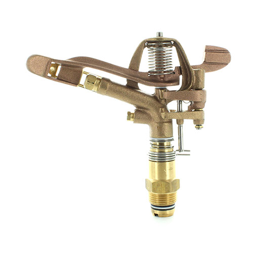 Aqualine I100A-014 Brass 1 in. Adjustable Impact Sprinkler