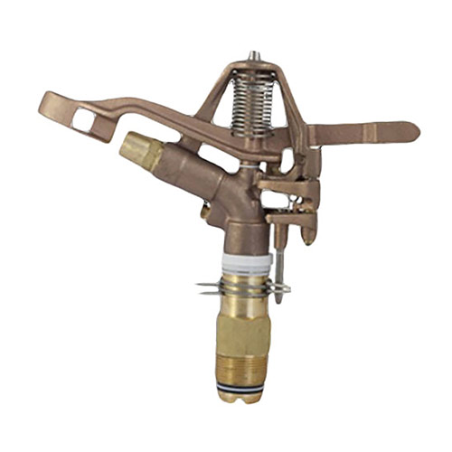 Aqualine I125A-38 1-1/4in  Brass Impact Sprinkler 3/8 Nozzle