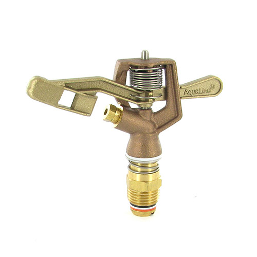 "I50-532 - Aqualine -  1/2"" Brass full circle impact sprinkler with 5/32 nozzle"