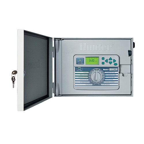 Hunter IC-600M - I-Core 6 Station Outdoor Controller / Timer with Metal Cabinet