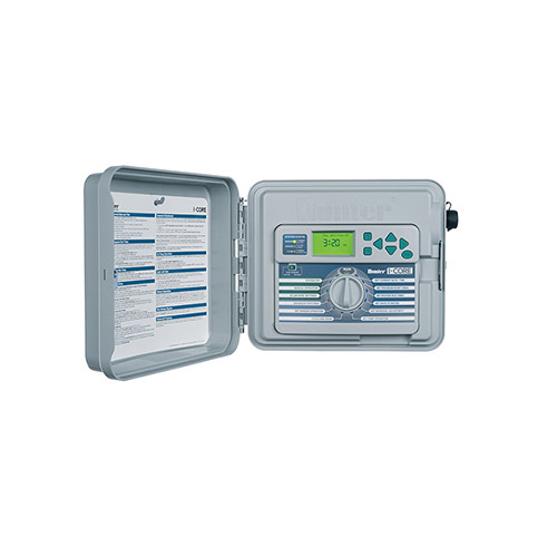Hunter IC-600PL - I-Core 6 Station Outdoor Controller / Timer with Plastic Cabinet