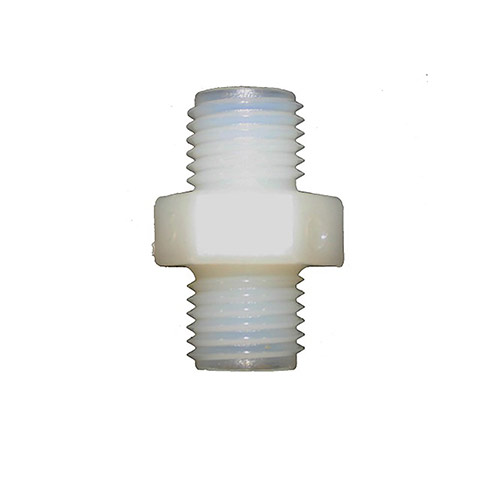 K-BYP - EZ Flo Bypass Nipple Connector White - 6 Pack