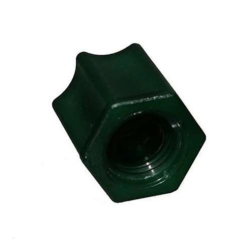 EZ Flo K-CNG - Green Cap Connector Nut - 5 Pack