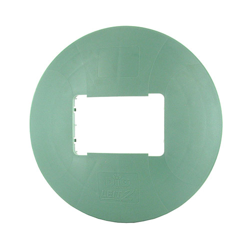 DIG LEIT-30-830 Valve Box Dome Attachment (Green)