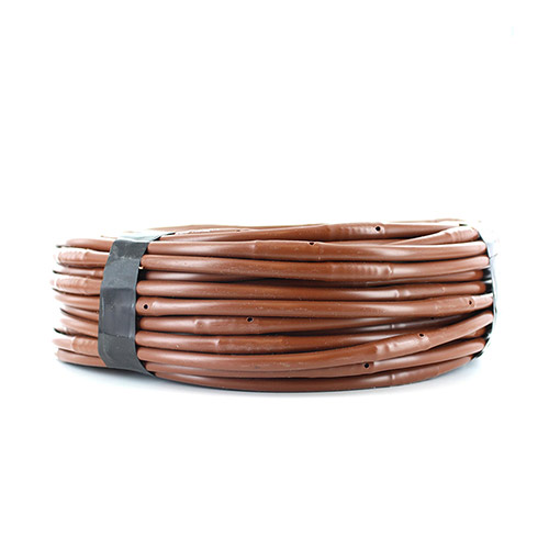 ML-106B - 1/4 inch Micro Non-PC Drip Line - Brown - 100 ft (6 inch spacing)