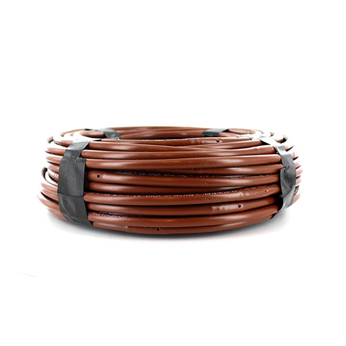 ML-112B - 1/4 inch Micro Non-PC Drip Line - Brown - 100 ft (12 inch spacing)