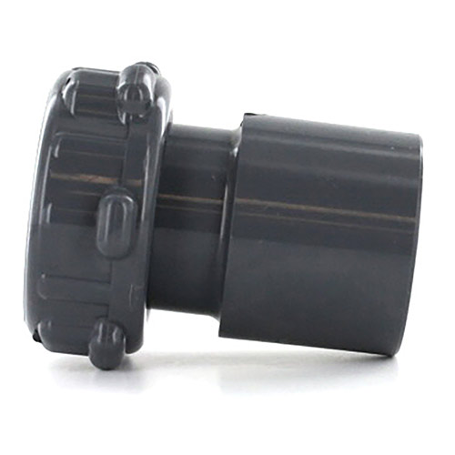 MS-125X100 - Schedule 80 F Buttress X 1 1/4 inch spigot x 1 inch slip adapter
