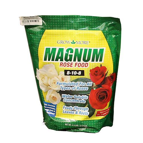 Grow More Magnum-Rose-Food-4.5 - 8-10-8 Fertilizer Mix (4.5 lbs)