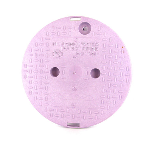 NDS-111P-CR 10 inch Round Valve Box Cover for Non-Potable Water