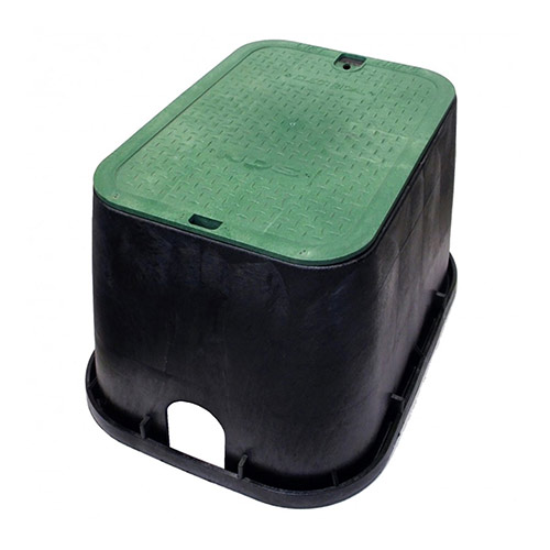 NDS-113BC - Standard Rectangular Valve Box with Overlapping Cover