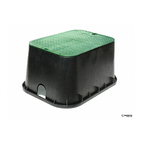 NDS-117BC - Jumbo Rectangular Valve Box with Overlapping Cover