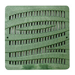 NDS-1224GR-12X12 Catch Basin Grate-Wave