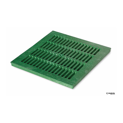 NDS-1812 Green 18 in. x 18 in. Square Drainage Grate