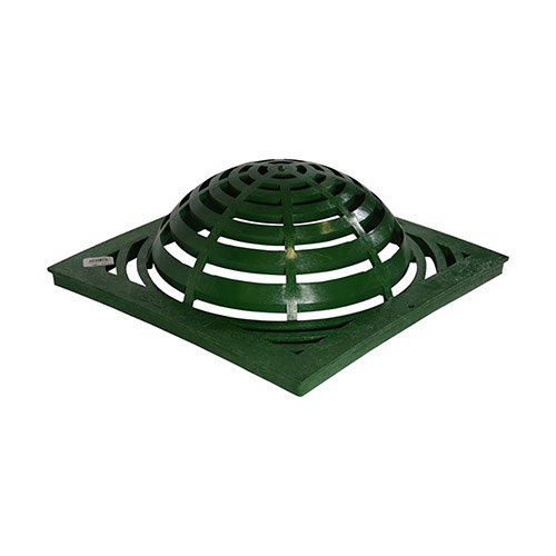 NDS-1891 Green 18 in. x 18 in. Atrium Drainage Grate