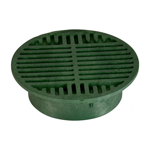 NDS-20 8 in. Green Round Grate