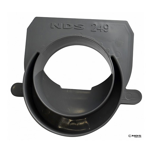 NDS-249-3in and 4in Offset End Outlet