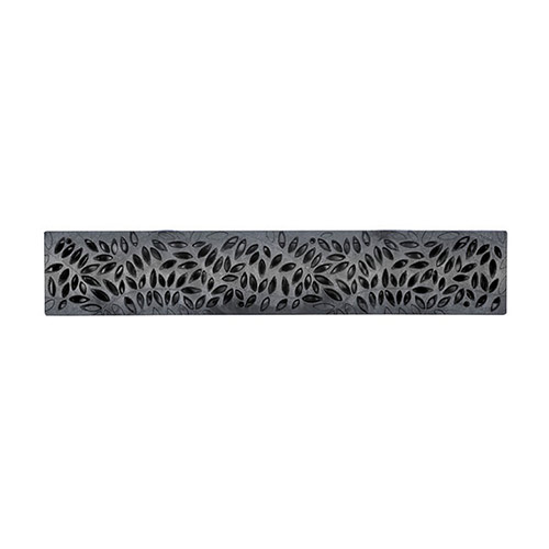 NDS-252GY-24in Spee-D Channel Grate Grey-Botanical