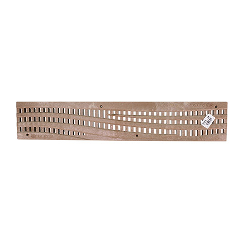 NDS-253S Wave 24 in Speed-D Channel Grate Sand