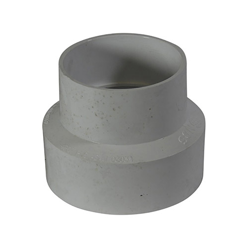 NDS 4P07 - PVC Reducer Coupling Solvent Weld Fitting