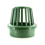 NDS-75 4 in. Green Atrium Drainage Grate