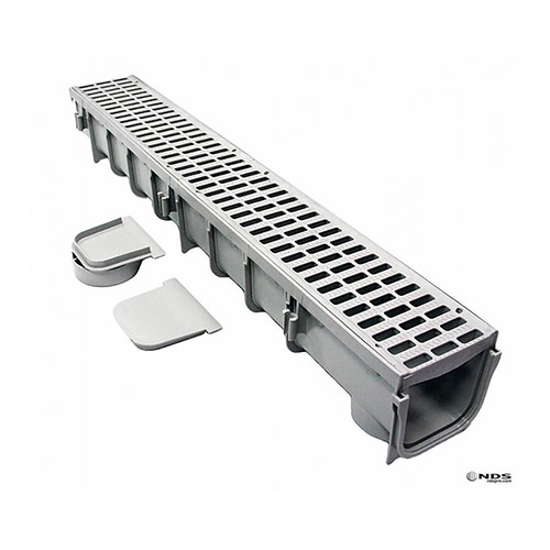 NDS-864 Pro Series Channel Drain Grey 5 inch
