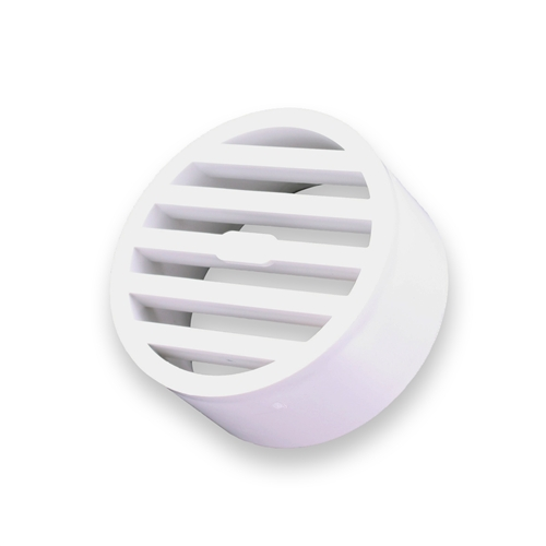 NDS-912 3 in. White Styrene Drain Grate