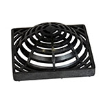 NDS-981 Black 9 x 9 in. Atrium Grate for 9 x 9 in. Catch Basin