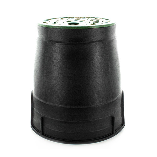 "NDS-D109-G - Econo 6"" Round Valve Box with Overlapping Cover"