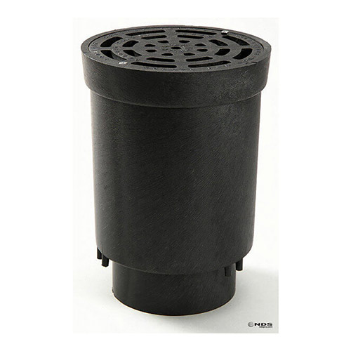 NDS-FWSD69 Surface Drain Inlet with Grate 4 inch Sch 40