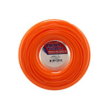 Orange Diamond Line Replacement Trimmer Line - 1 Lb Donut