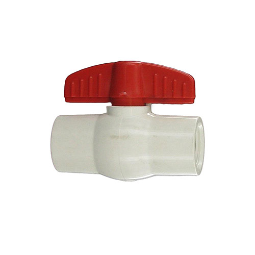 "Aqualine PBV-050 - 1/2"" plastic ball valve with threaded ends"