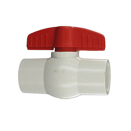 "Aqualine PBV-075S - 3/4"" plastic ball valve with Slip Ends"