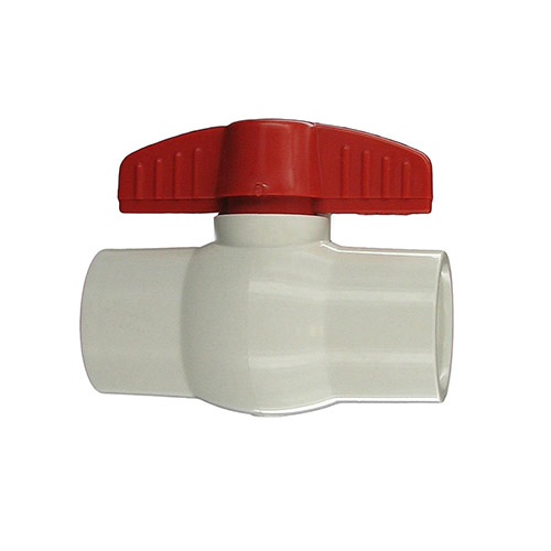 "Aqualine PBV-100 - 1"" plastic ball valve with threaded ends"