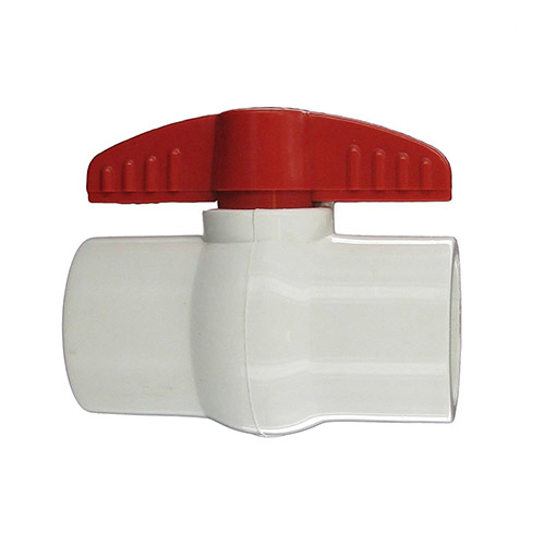 "Aqualine PBV-150S - 1-1/2"" plastic ball valve with Slip Ends"