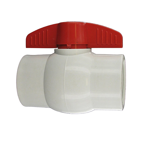 "Aqualine PBV-200 - 2"" plastic ball valve with threaded ends"