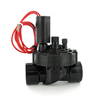 "Hunter PGV-101JTG - PGV Series 1"" plastic globe valve with Jar-Top Bonnet, NPT Threads (with flow control)"