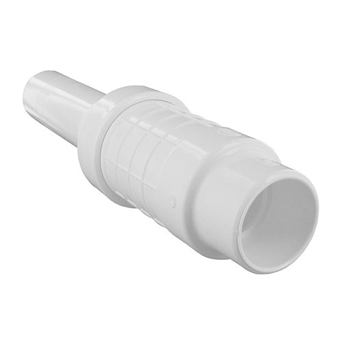King Brothers QF-1250 - 1-1/4 inch Quik-Fix PVC Telescopic Repair Coupling (Slip x Spigot)