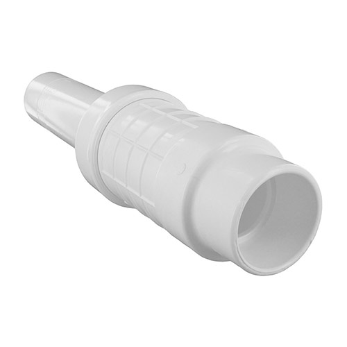 King Brothers QF-1500 - 1-1/2 inch Quik-Fix PVC Telescopic Repair Coupling (Slip x Spigot)