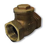 Munro SCV521T10 3 in. Brass Swing Check Valve