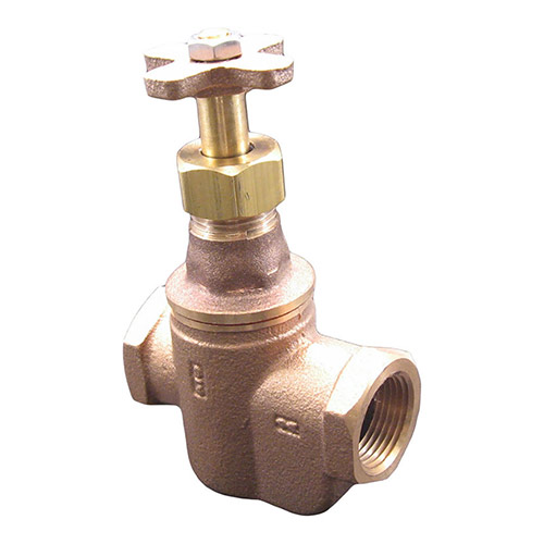 "SV-075 - Aqualine -  3/4"" Straight valve with cross handle"