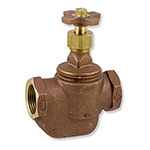 "SV-100 - Aqualine -  1"" Straight valve with cross handle"