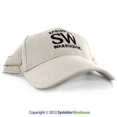 SW-CAP-KHAKI Khaki Ball Cap With Sun Glasses Holder