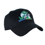 SW-GATORCAP-BLACK-P - Structured Sprinkler Warehouse Irri-GATOR Cap with Pockets (Black)