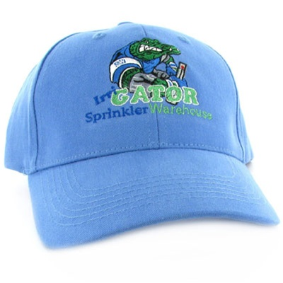 SW-GATORCAP-BLUE - Structured Sprinkler Warehouse Irri-GATOR Cap (Blue)