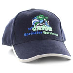 SW-GATORCAP-NAVYSL Navy Structured Irri-Gator Ballcap with Scotchlite