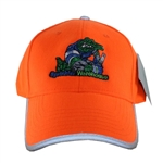 SW-GATORCAP-ORANGESL Orange Structured Irri-Gator Ballcap with Scotchlite